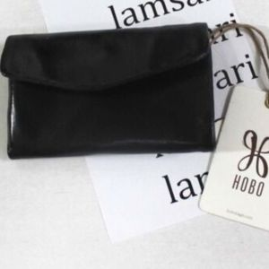 """HOBO INTL  """"Lacy"""" Mini Trifold Leather Wallet"""